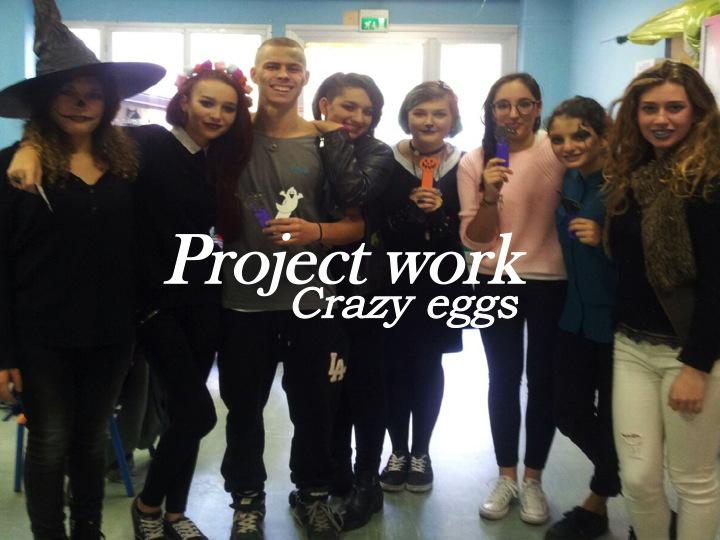 Crazy Eggs: un racconto per immagini dai ragazzi dell'Einaudi di Lodi